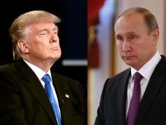 Президент США Дональд Трамп и президент РФ Владимир Путин. Фото: bbci.co.uk